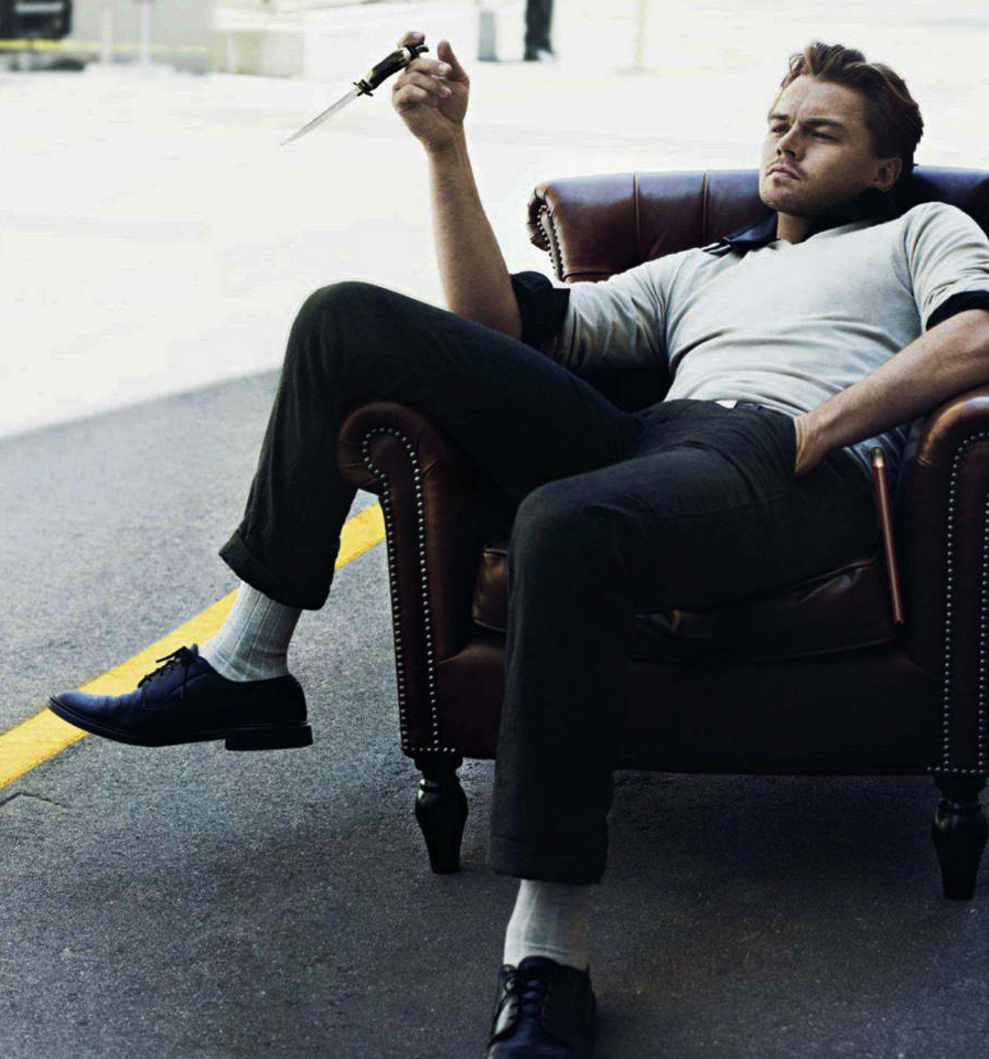Outfit for the Office - Leonardo DiCaprio