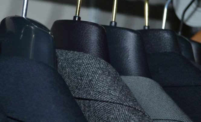 jackets hung